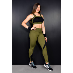 Legging e Top Army l