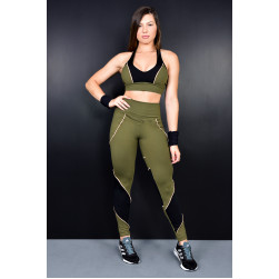 Legging e Top Army ll