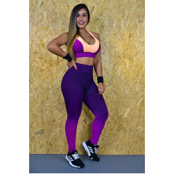 Legging e Top Violet IV