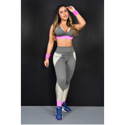 Legging e Top Mescla l